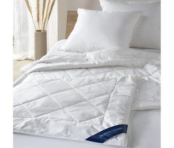 De Witte Lietaer Sommerdecke Baumwolle Weiß - 200 x 220 cm