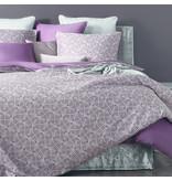 De Witte Lietaer Housse de couette Coton Satin Flow - Lits Jumeaux - 240 x 220 cm - Violet