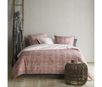 De Witte Lietaer Bettbezug Cotton Satin Crayon Woodrose 260 x 240 cm