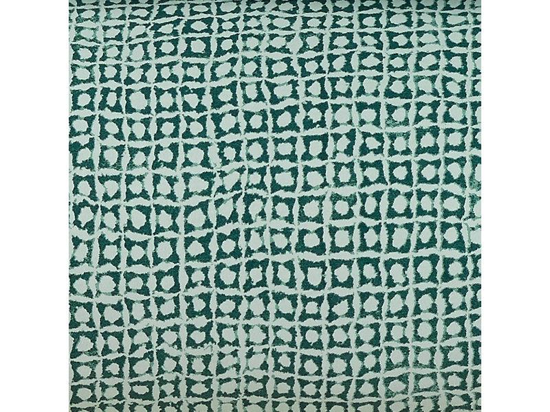 De Witte Lietaer Housse de couette Cravate Satin de Coton - Double - 200 x 200/220 cm - Vert