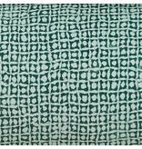 De Witte Lietaer Dekbedovertrek Katoen Satijn Cravat - Lits Jumeaux - 240 x 220 cm - Groen