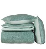 De Witte Lietaer Duvet cover Cotton Satin Cravat - Lits Jumeaux - 240 x 220 cm - Green