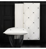 De Witte Lietaer Dekbedovertrek Katoen Satijn Butterflies - Eenpersoons - 140 x 200/220 cm - Wit