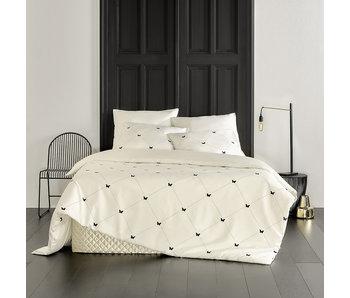 De Witte Lietaer Bettbezug Cotton Satin Butterflies 260 x 240 cm