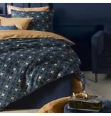 De Witte Lietaer Duvet cover Cotton Satin Alice - Lits Jumeaux - 240 x 220 cm - Blue