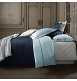 De Witte Lietaer Housse de couette Coton Perkal Bumblebee - Lits Jumeaux - 240 x 220 cm - Bleu