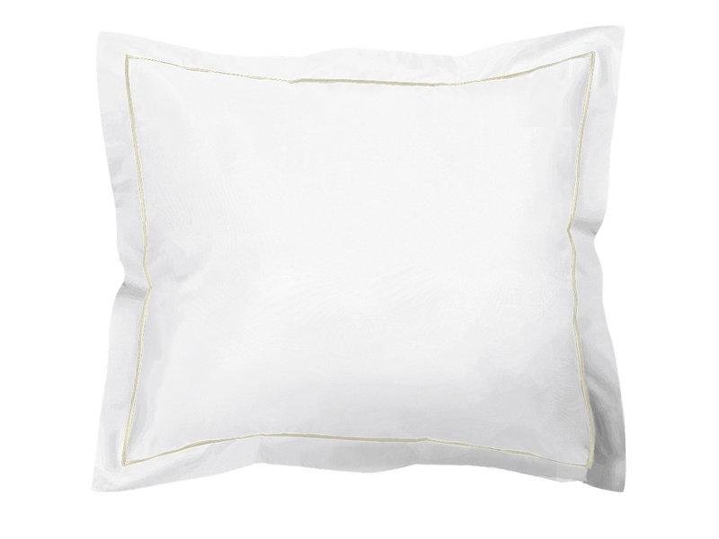 De Witte Lietaer Housse de couette Coton Perkal Bumblebee - Simple - 140 x 200 cm - Blanc