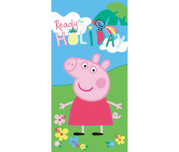 Peppa Pig Strandlaken Holiday 70 x 140 cm