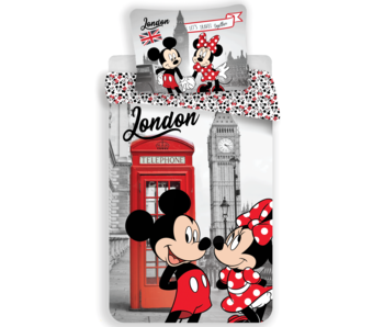 Disney Minnie Mouse Bettbezug London 140 x 200
