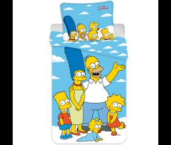 The Simpsons Bettbezug Porträt 140 x 200