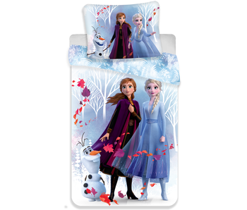 Disney Frozen 2 Dekbedovertrek Winter 140 x 200