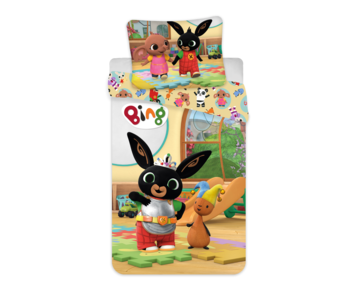 Bing Bunny BABY Bettbezug Spielzeit 100 x 135 cm