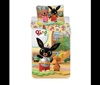Bing Bunny BABY Dekbedovertrek Speeltijd 100 x 135 cm