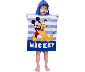 Disney Mickey Mouse & Pluto Poncho 50 x 115 cm