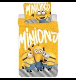 Minions 2 Dekbedovertrek Banana - Eenpersoons - 140  x 200 cm - Geel