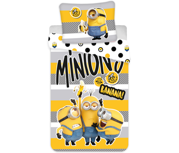 Minions 2 Banana dekbedovertrek 140 x 200