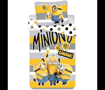 Minions 2 housse de couette banane 140 x 200 cm 70 x 90 cm