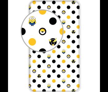 Minions 2 Hoeslaken Dots 90 x 200 cm