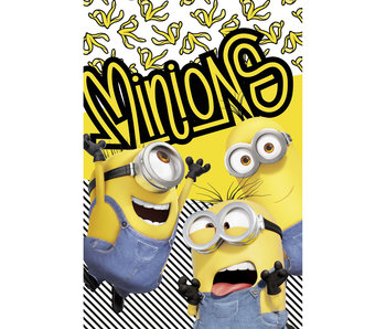 Minions 2 Fleece deken Banana 100 x 150 cm