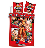 Dragon Ball Z Housse de couette - Simple - 140 x 200 cm - Rouge