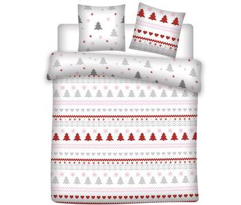 Winter Bettbezug Flanell Kiefer 240 x 220