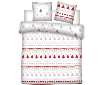 Winter Duvet cover Flannel Pine Tree 240 x 220