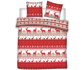 Winter Duvet cover Flannel Deer 240 x 220