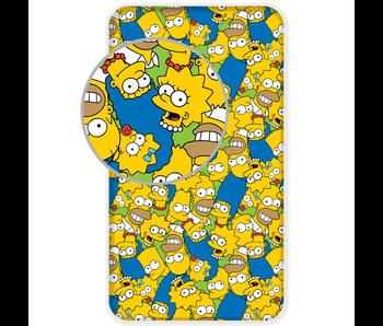 The Simpsons Drap housse Faces 90 x 200