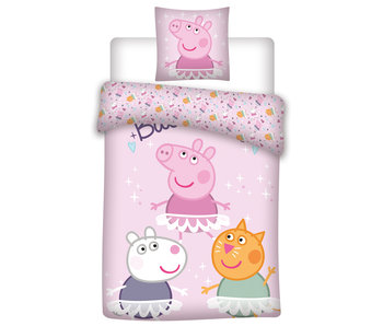 Peppa Pig Duvet cover Friends 140 x 200