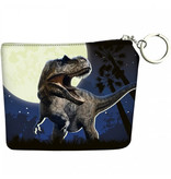 Animal Pictures Wallet Dinosaur - 12 x 10 cm - Blue