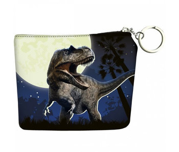Animal Pictures Wallet Dinosaur - 12 cm