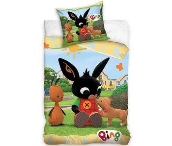 Bing Bunny Dekbedovertrek Puppy 140 x 200