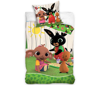 Bing Bunny Bettbezug Picknick 140 x 200
