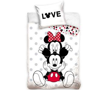 Disney Minnie Mouse Housse de couette Love 140 x 200