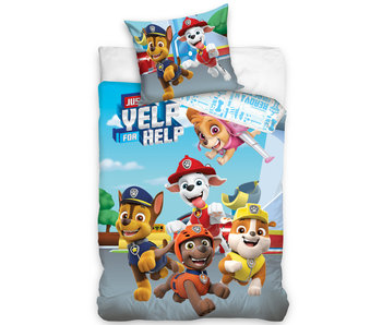 PAW Patrol Dekbedovertrek Yelp for Help 140 x 200