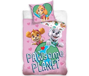PAW Patrol Dekbedovertrek PAWsome Planet 140 x 200