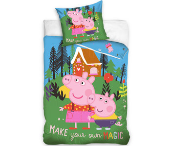 Peppa Pig Dekbedovertrek Magic Forest 140 x 200