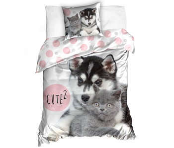 Animal Pictures Duvet cover Cute 140 x 200