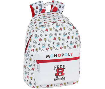 Monopoly Backpack Free Parking 41 cm