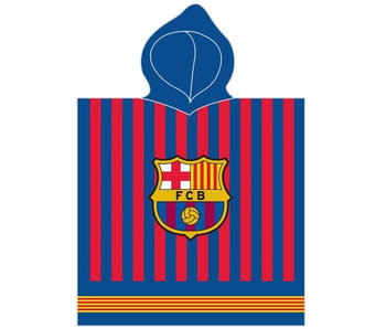 FC Barcelona Logo Poncho 60 x 120 cm