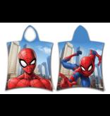 SpiderMan Poncho Swing - 50 x 115 cm - Blauw