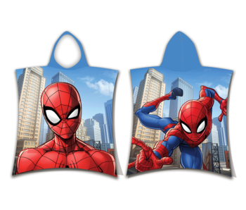 SpiderMan Poncho Swing 50 x 115 cm Katoen