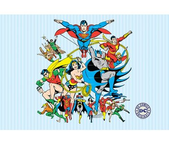 DC Comics Foto Wall Collage
