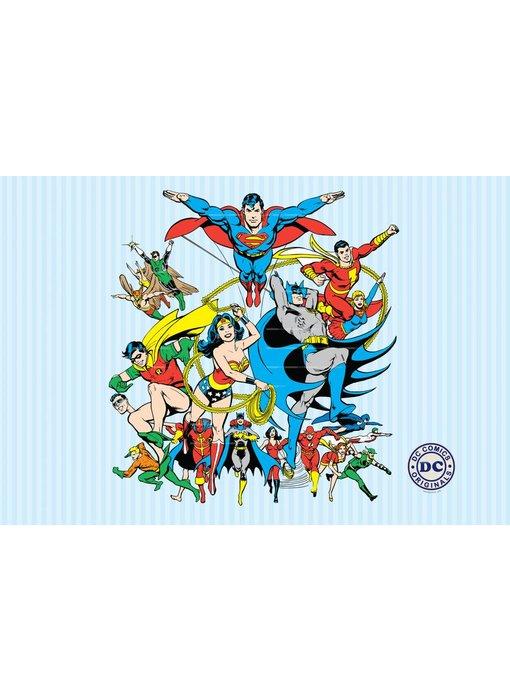 DC Comics Fotobehang Collage