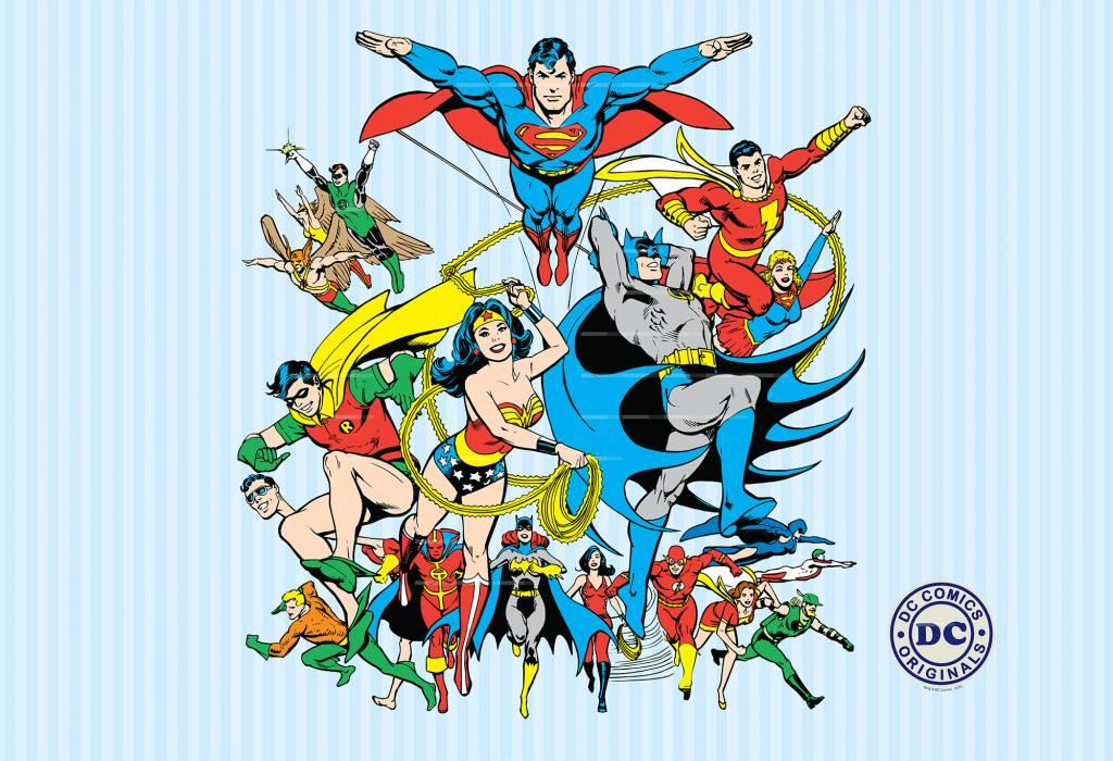 Dc Comics Dc Comics Collage 232 X 158 Cm Simbashop Nl