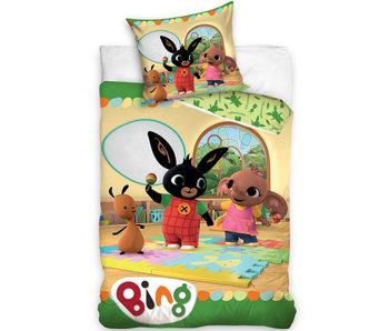 Bing Bunny Dekbedovertrek katoen 140x200 + 65x65cm