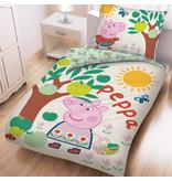 Peppa Pig Duvet cover Apple tree - Single - 140 x 200 cm - Cotton