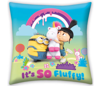 Minions Kussen It's so Fluffy! 40 x 40 cm