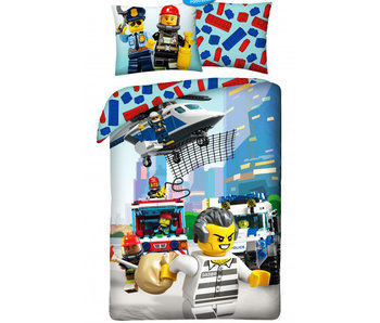 Lego Dekbedovertrek Lego City 140 x 200