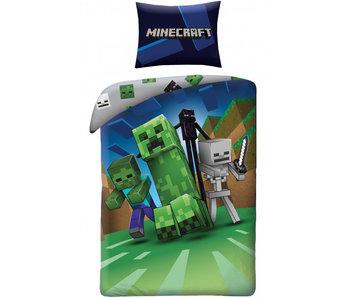 Minecraft Bettbezug Nacht 140 x 200